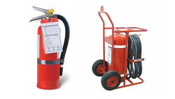 Portable Wheeled Fire Extinguisher
